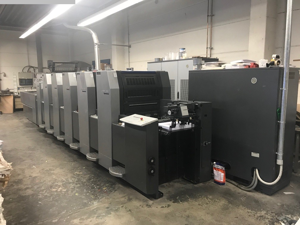 used sheetfeed offset 5 colour / units HEIDELBERG SM 52-5-P2-H+L