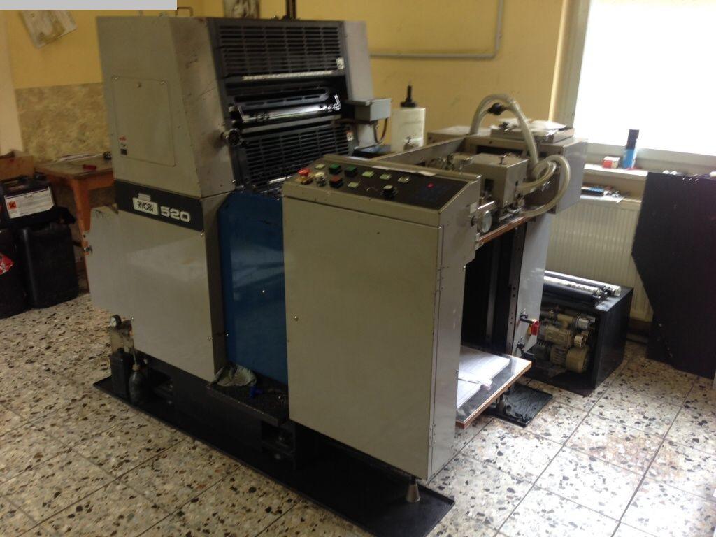 gebrauchte Bogenoffsetdruck 1 Farben / Druckwerke RYOBI 520