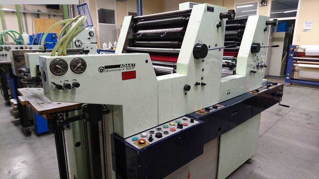 gebrauchte Druckereimaschinen 2 Farben / Druckwerke ADAST Dominant 525P