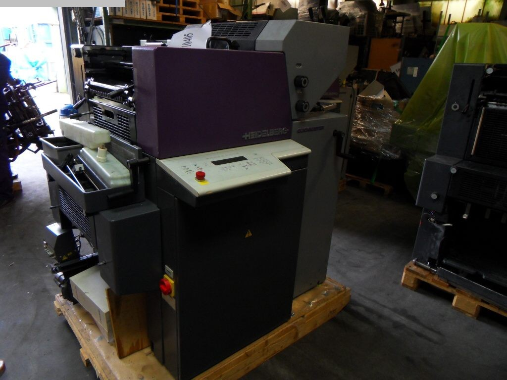 gebrauchte Druckereimaschinen 2 Farben / Druckwerke HEIDELBERG QM 46-2