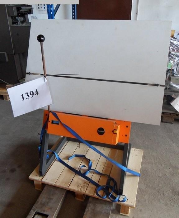gebrauchte Druckmaschinenzubehör Plattenstanze und Plattenabkanter BACHER 2048