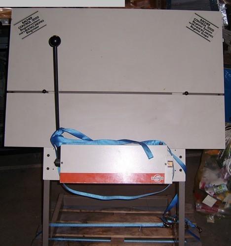 gebrauchte Druckmaschinenzubehör Plattenstanze und Plattenabkanter BACHER 2045