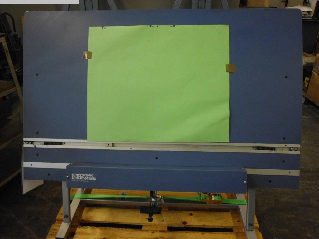 gebrauchte Druckmaschinenzubehör Plattenstanze und Plattenabkanter Graphometronic