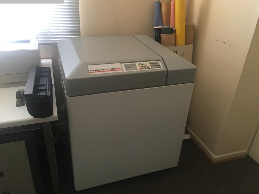 gebrauchte Druckvorstufe Filmbelichter AGFA AccuSet 1000Plus