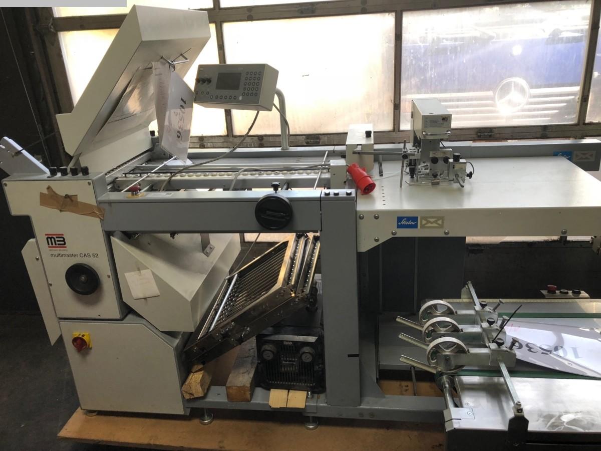 gebrauchte Weiterverarbeitung Falzmaschinen MB Multimaster CAS 52