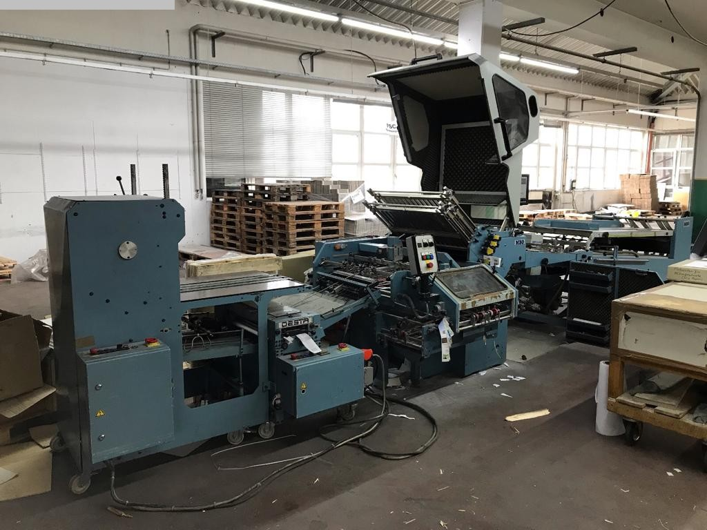 gebrauchte Weiterverarbeitung Falzmaschinen MBO K 76-4 SKTL