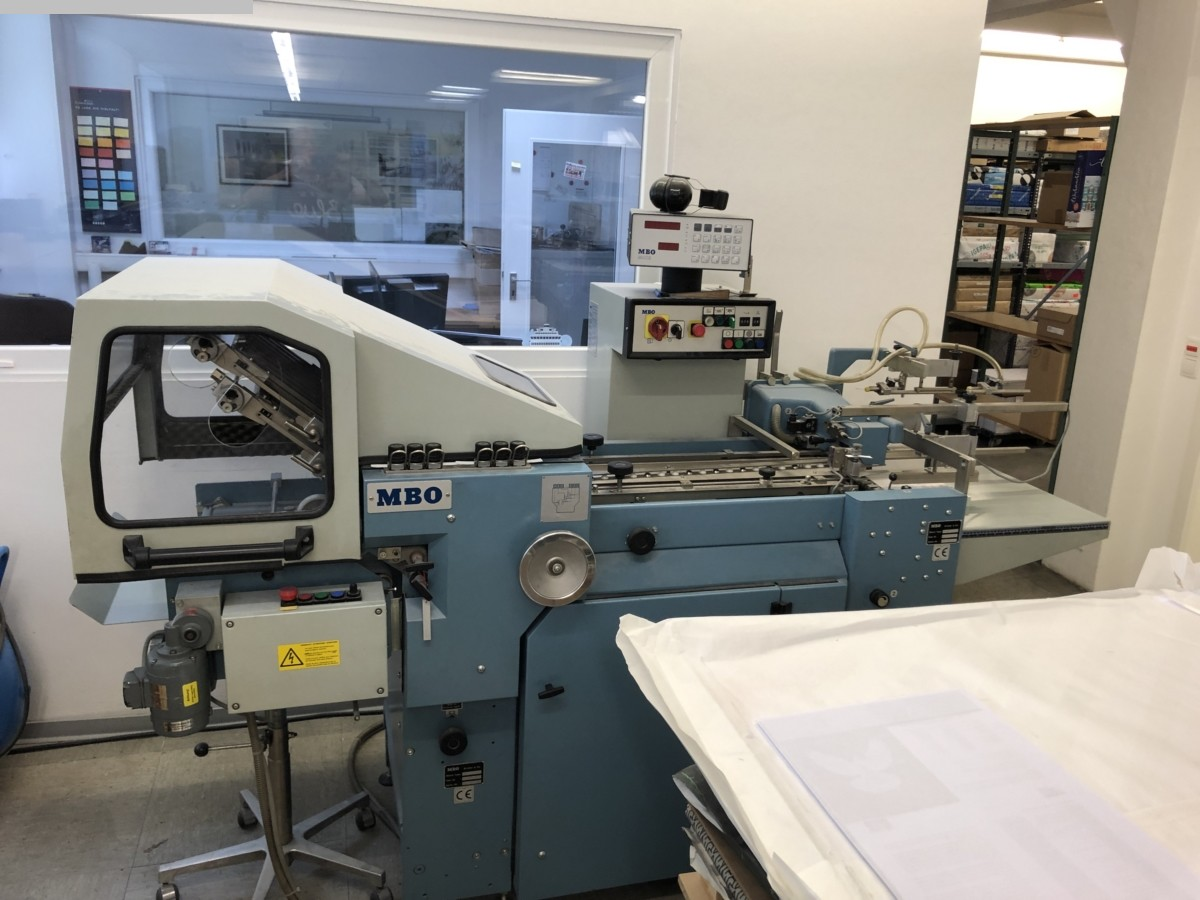 gebrauchte Weiterverarbeitung Falzmaschinen MBO T 400-1-400/4