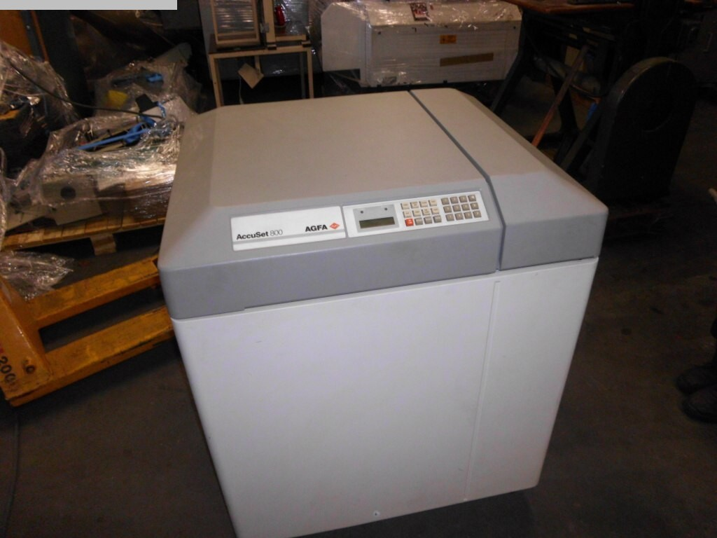 used Prepress Imagesetters AGFA AccuSet 800