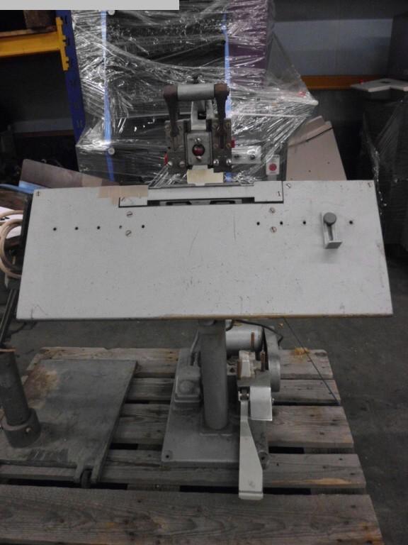 gebrauchte Weiterverarbeitung Klammerheftmaschine NAGEL Multinak