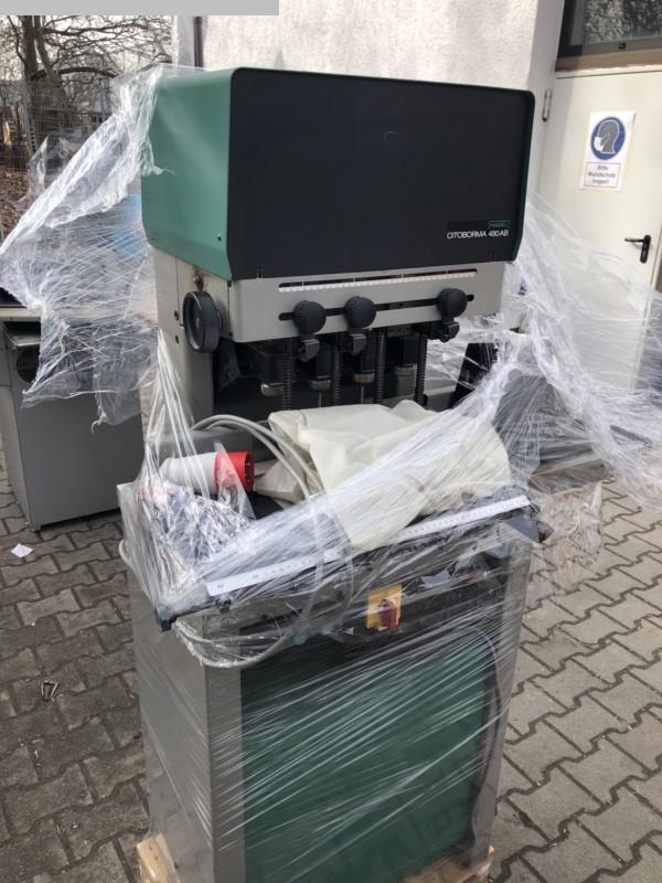 gebrauchte Weiterverarbeitung Papierbohrmaschine NAGEL Citoborma 480 AB