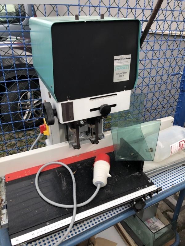 gebrauchte Weiterverarbeitung Papierbohrmaschine NAGEL Citiborma 280 B