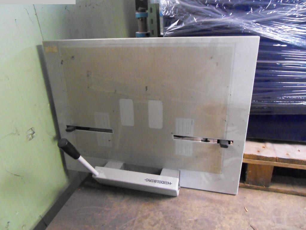 Equipements de machines d'impression d'occasion Perforatrices de plaques et cintreuses de plaques HEIDELBERG A1.090.9016 / 01