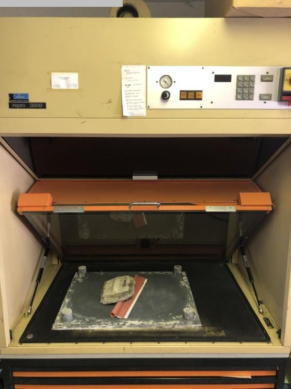 used Prepress Platemaker BACHER Repro 2000