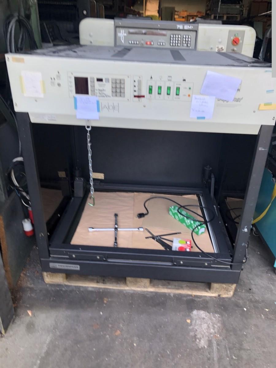 gebrauchte Druckvorstufe Plattenkopiergerät THEIMER 3367