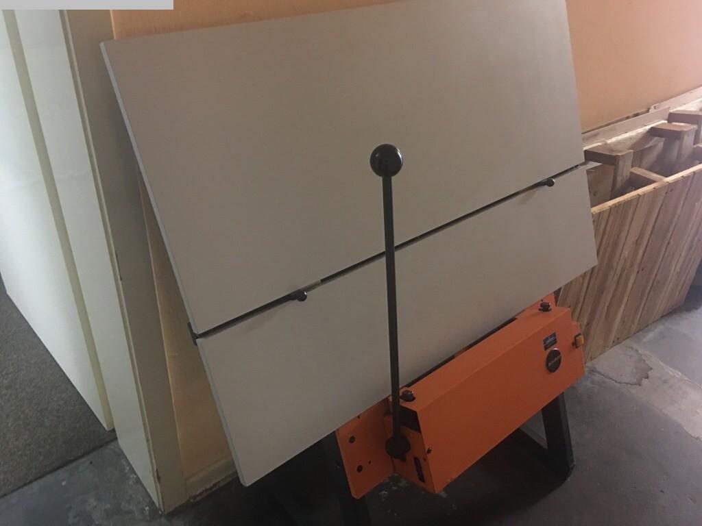 gebrauchte Plattenstanze und Plattenabkanter BACHER 2045