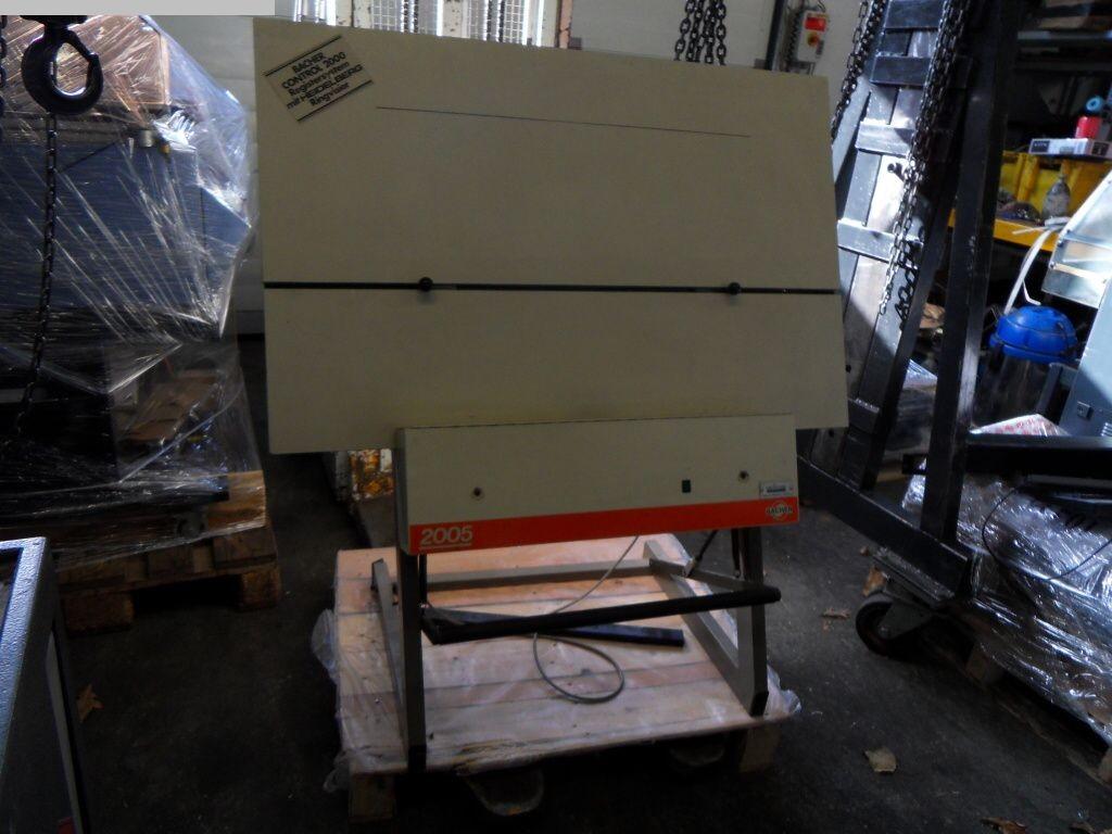 gebrauchte Druckmaschinenzubehör Plattenstanze und Plattenabkanter BACHER 2005