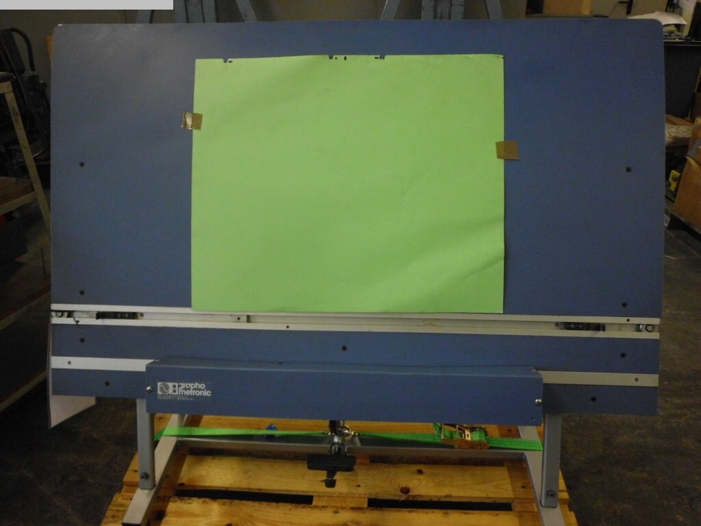 gebrauchte Plattenstanze und Plattenabkanter Graphometronic