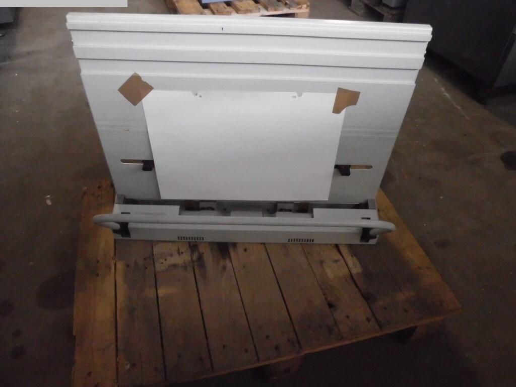 gebrauchte Druckmaschinenzubehör Plattenstanze und Plattenabkanter HEIDELBERG QM 46