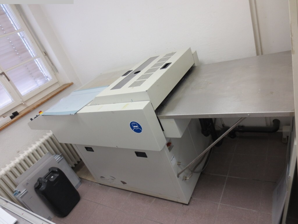 used Plate processor POLYGRAPH 9100