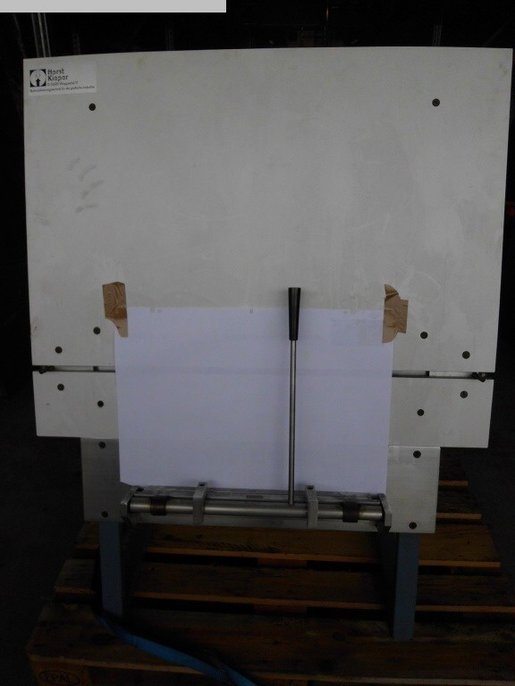 used Printing machine equipment Plate punchers anb plate benders Kieper P 425 B