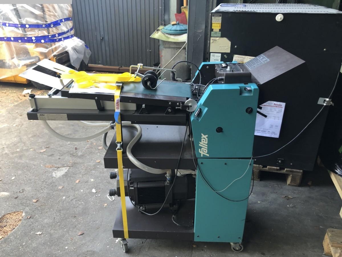 used postpress folding machines Faltex Faltex