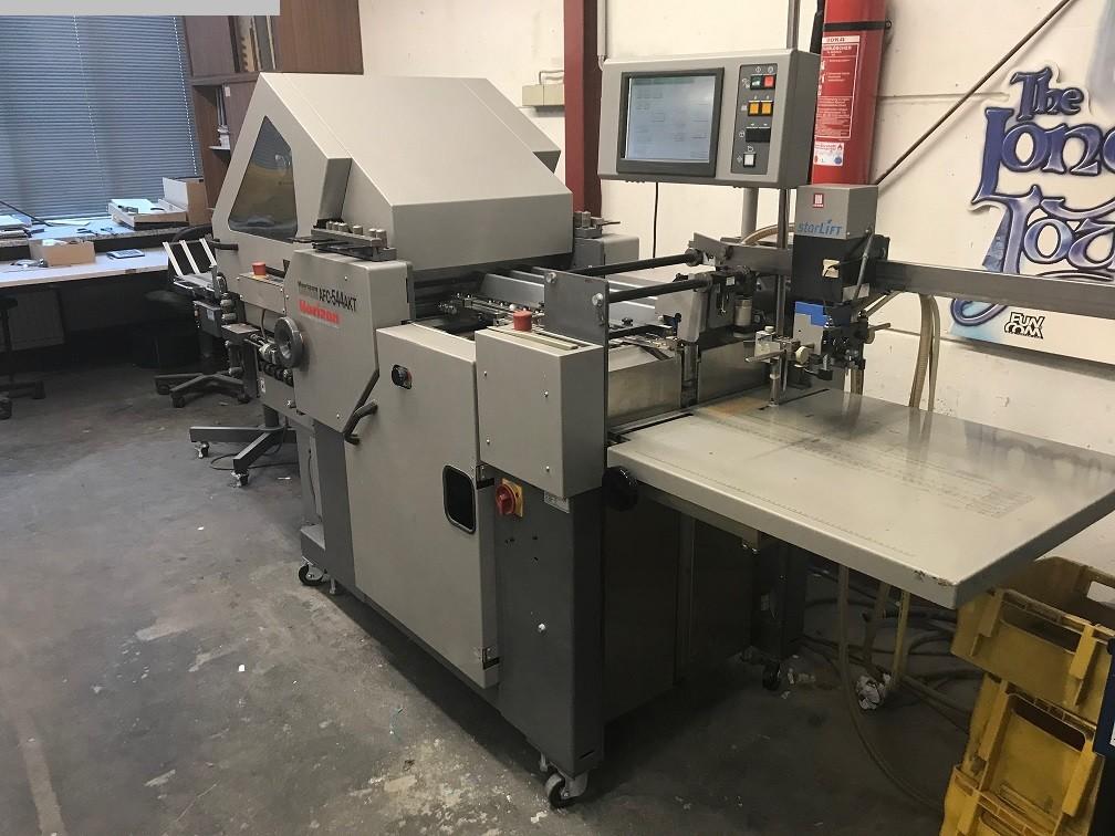 used postpress folding machines HORIZON AFC 544 AKT