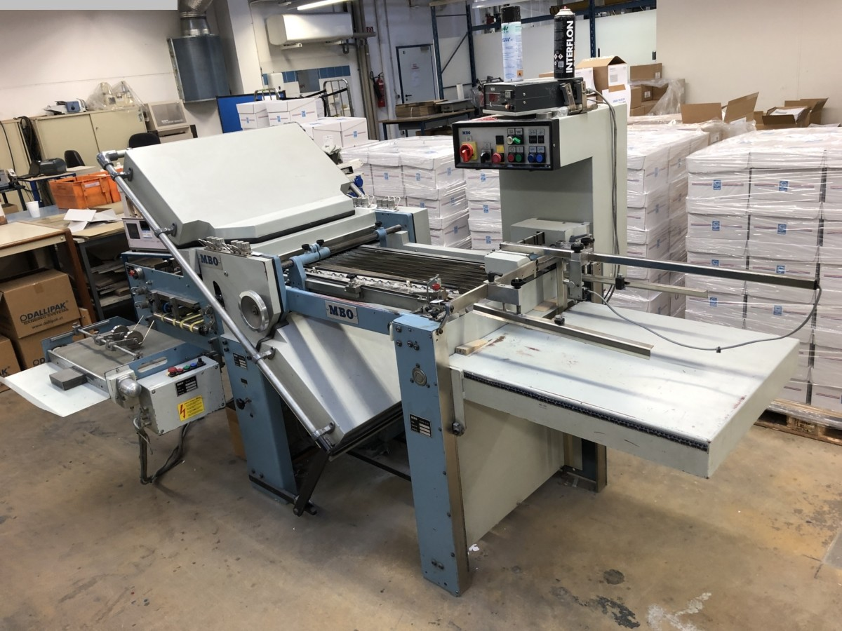 used postpress folding machines MBO T 49-4