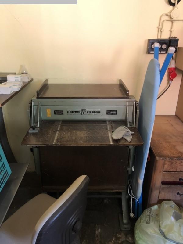 gebruikte postpress groovende abd perofrating machine BICKEL HK 3-68