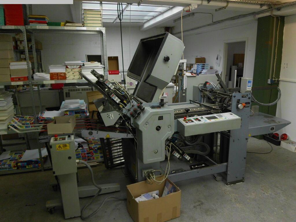 used postpress folding machines HEIDELBERG TD 52/4-4/FD 52