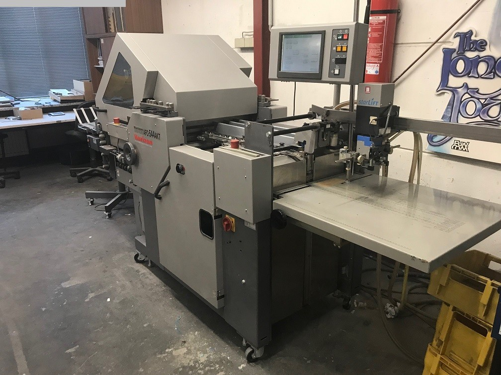 used postpress folding machines HORIZON AFC 544 AKT