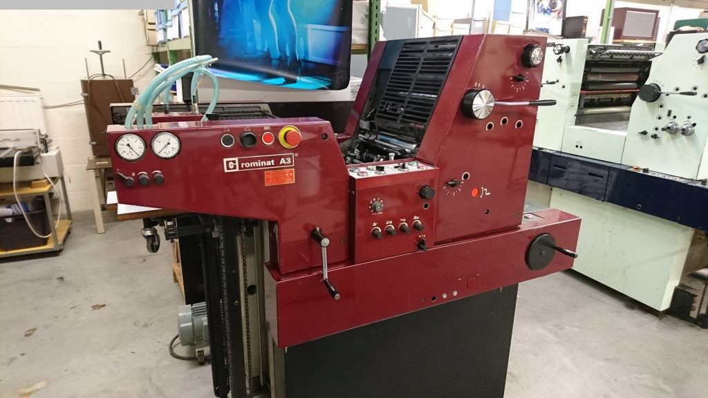 used printing equipment 1 colour / units ADAST Rominat A 3