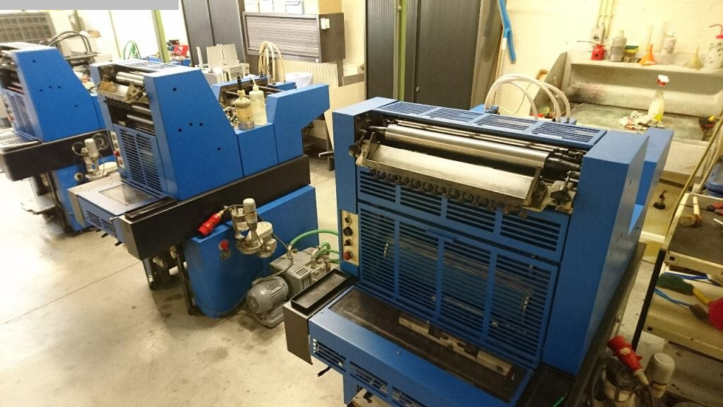 used printing equipment 1 colour / units ADAST 514