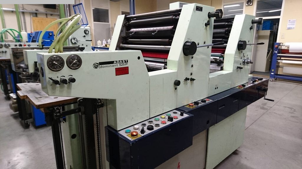 used printing equipment 2 colour / units ADAST Dominant 525P