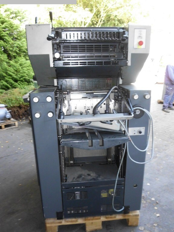 used printing equipment 2 colour / units HEIDELBERG QM 46-2