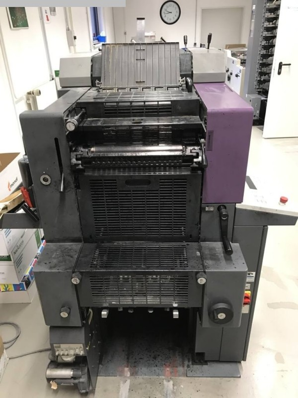 used sheetfeed offset 2 colour / units HEIDELBERG QM 46-2