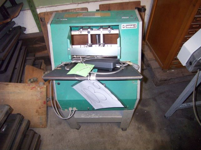 used postpress stapling machine NAGEL Foldnak 2