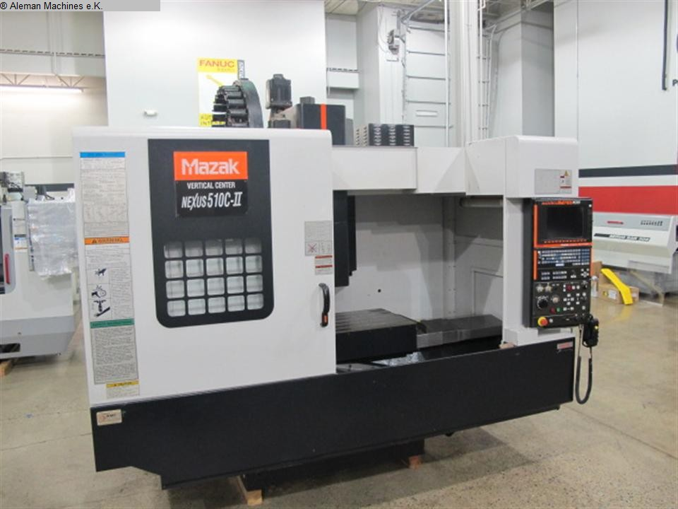 used  Machining Center - Vertical MAZAK Nexus 510C-II