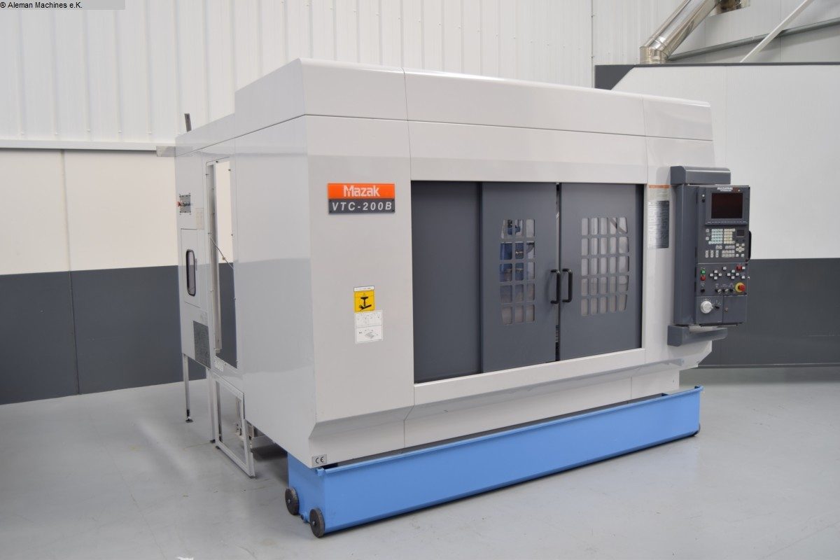used  Machining Center - Vertical MAZAK VTC 200 B