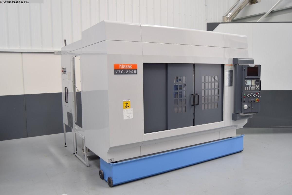 used  Machining Center - Vertical MAZAK VTC 200 B