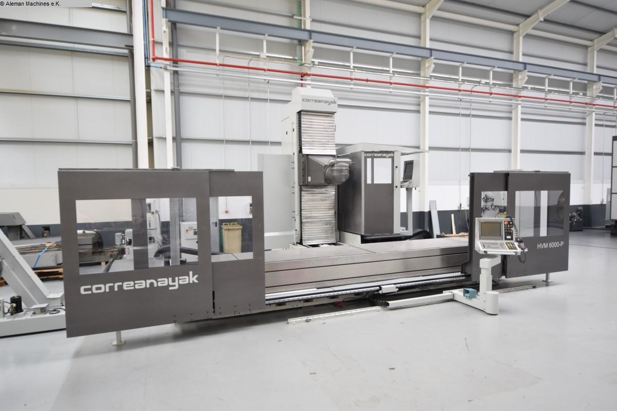 gebrauchte Fräsmaschinen Fahrständerfräsmaschine ANAYAK HVM 6000 P