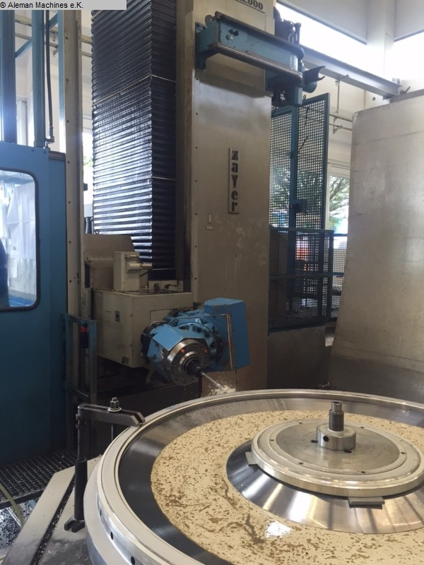 gebrauchte Fräsmaschinen Fahrständerfräsmaschine ZAYER KCU 22.000