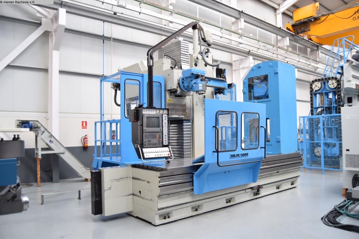 gebrauchte Fräsmaschinen Fahrständerfräsmaschine ZAYER 30 KMU-5000