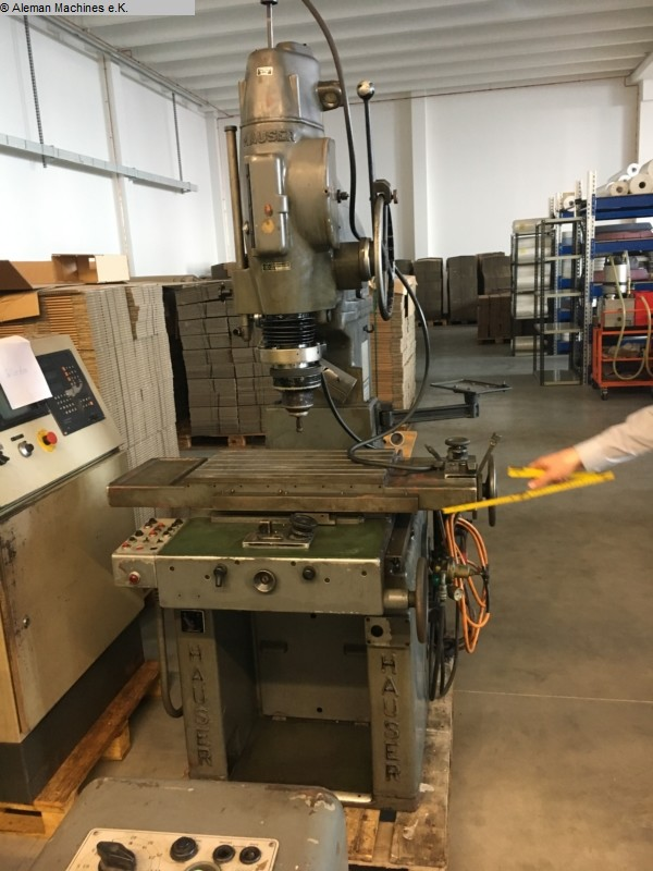 used Machines available immediately Jig Grinding Machine HAUSER HAUSER 3 S M