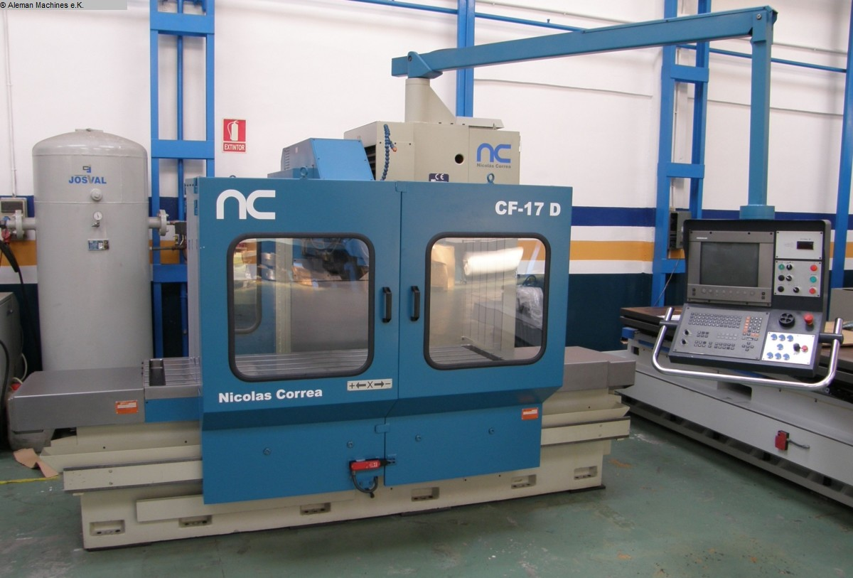used Milling machines Bed Type Milling Machine - Universal CORREA CF 17