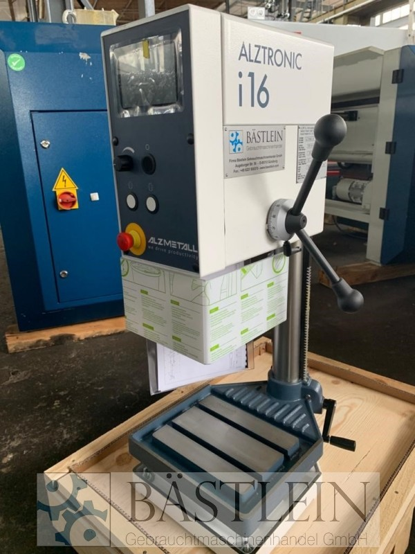 used  Bench Drilling Machine ALZMETALL ALZTRONIC i16