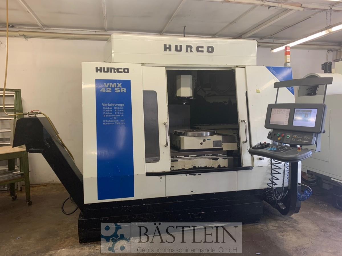 used  Machining Center - Vertical HURCO VMX 42 SR