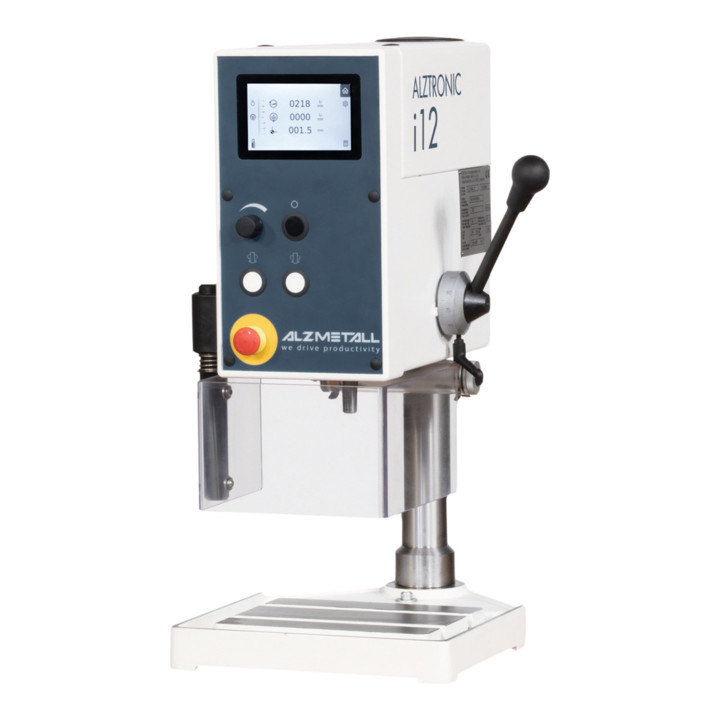 used Boring mills / Machining Centers / Drilling machines Bench Drilling Machine ALZMETALL ALZTRONIC i12