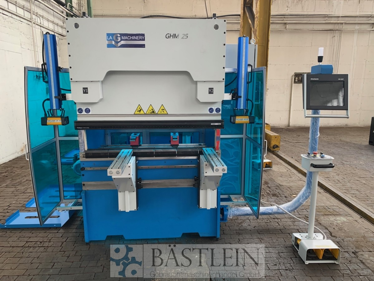 used Sheet metal working / shaeres / bending Hydr. pressbrake LAG GHM 25-1250