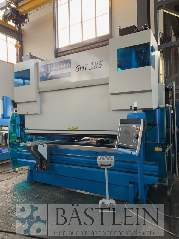 used Sheet metal working / shaeres / bending Hydr. pressbrake LAG GHT 185-3000