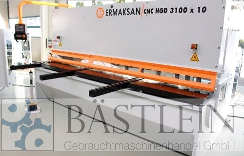 used Sheet metal working / shaeres / bending Plate Shear - Hydraulic ERMAK CNC HGD 3100x10
